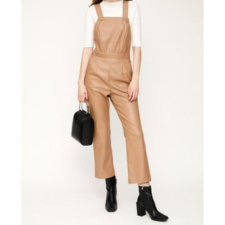 SLY - SLY F/LEATHER SALOPETTE