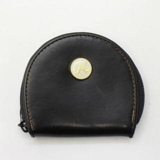 キタムラ(Kitamura)のキタムラ Kitamura レザー コインケース 小銭入れ 財布 サイフ 黒(コインケース)