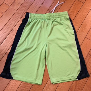 プーマ(PUMA)の男児プーマ ハーフパンツL黄緑色(パンツ/スパッツ)