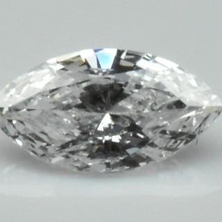 【中央宝石研究所】マーキス 天然ダイヤモンド 0.423ct ルース