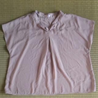 ハニーズ(HONEYS)のハニーズ 半袖ブラウス グレージュ(シャツ/ブラウス(半袖/袖なし))
