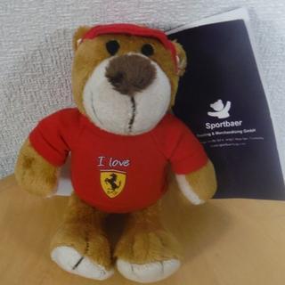 フェラーリ(Ferrari)のフェラーリferrariのクマのキーホルダー(その他)