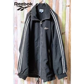 Reebok - 【人気】 Reebok リーボック ダブルライン ナイロンジャケット ブラック