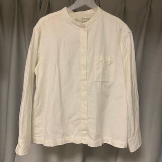 MUJI (無印良品) - 無印 フランネル スタンドカラーシャツ