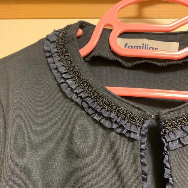 familiar(ファミリア)のファミリア ボレロ ジャケット カーディガン 120 キッズ/ベビー/マタニティのキッズ服女の子用(90cm~)(ジャケット/上着)の商品写真