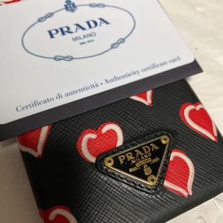プラダ(PRADA)のPRADA プラダ iPhone X モバイルケース トライアングルロゴ 限定柄(iPhoneケース)