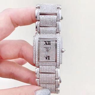 パテックフィリップ(PATEK PHILIPPE)のパテックフィリップ フルダイヤ アフターダイヤ 時計 レディース(腕時計(アナログ))