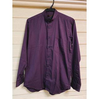 クリスチャンオジャール(CHRISTIAN AUJARD)のメンズ ワイシャツ 紫 ストライプ CHRISTIAN AUJARD(シャツ)