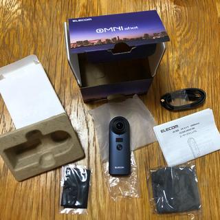 エレコム(ELECOM)の新品・未使用 エレコム 360度カメラ オムニショット OCAM-VRW01BK(その他)