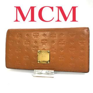 エムシーエム(MCM)のMCM 財布 長財布 レザー  本革 ポケット多数 金具 レディース おすすめ(財布)