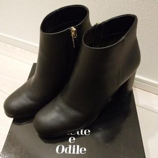ユナイテッドアローズ(UNITED ARROWS)のOdette e Odile ラウンドヒール ショートブーツ(ブーツ)