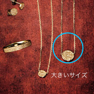 agete - agete   K18ダイヤモンドネックレス