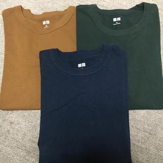 UNIQLO - ユニクロTシャツ 三枚組