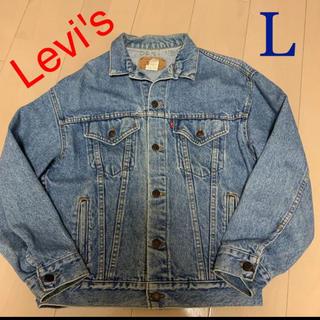 リーバイス(Levi's)の★ヴィンテージ❗️★リーバイス デニムジャケット L(Gジャン/デニムジャケット)
