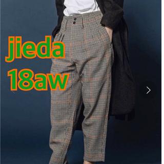 ジエダ(Jieda)のjieda HOUND'S TOOTH 3TUCK SLACKS(スラックス)