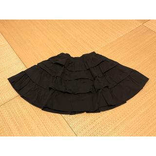 kate spade new york - kate spade フリルスカート 黒 130