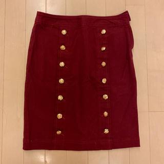エゴイスト(EGOIST)のEGOIST コーデュロイタイトスカート(ひざ丈スカート)