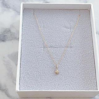 4℃ - 美品 L&Co. K10 ダイヤモンドネックレス