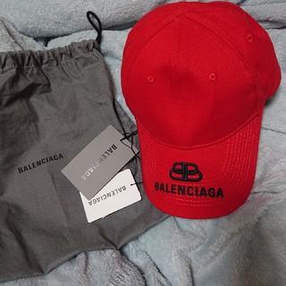 Balenciaga - バレンシアガ BALENCIAGA 新品 本物 ロゴ 刺繍 キャップ 帽子