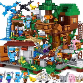 Lego - マインクラフト 4つのワールド レゴ 互換 ブロック