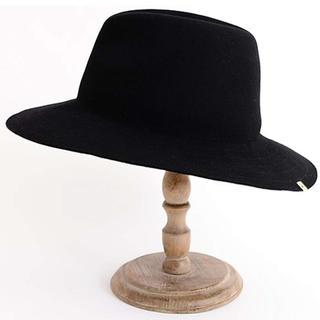 ミラオーウェン(Mila Owen)のハット MilaOwen レディース 黒 帽子(ハット)