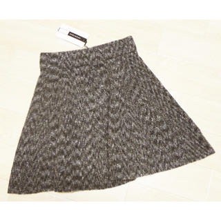 マックスマーラ(Max Mara)のマックスマーラ デザインスカート グレー(ミニスカート)