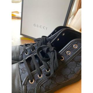 Gucci - GUCCI ハイカットスニーカー