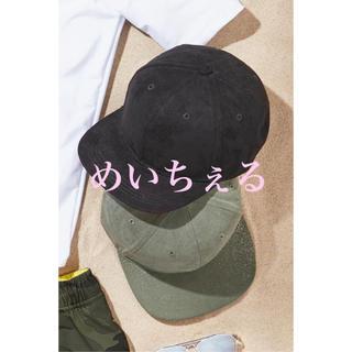 マーベル(MARVEL)の【新品】next ブラックカーキ キャップ2個組(オールド)(帽子)