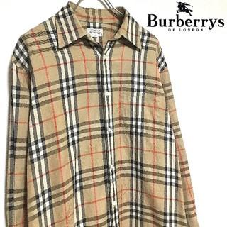 BURBERRY - 【美品】90s BURBERRYS Nova shirt