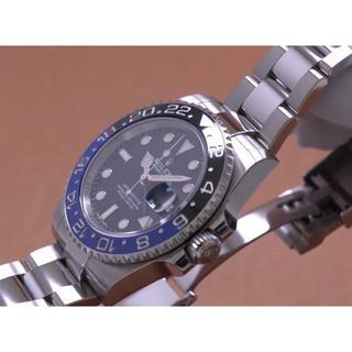 ROLEX - ROLEX ロレックス GMTマスターII ブルー/ブラック