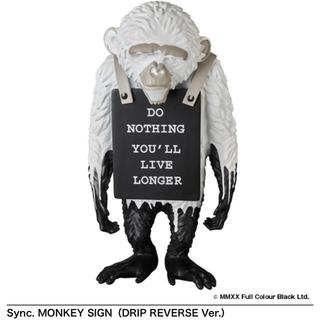 MEDICOM TOY - BANKSYバンクシーMONKEY SIGN(DRIP REVERSE Ver)