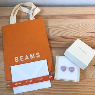 BEAMS - sale BEAMS 新品未使用 ウォーターハートピアス