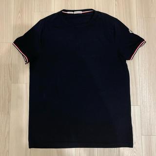 MONCLER - [新品同様]モンクレール Tシャツ トリコロール ブラック XL