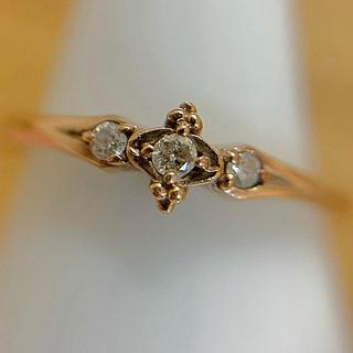 アガット(agete)のK10 ダイヤモンド アガット agete リング (リング(指輪))