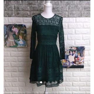 エイソス(asos)のasos プレミアムレース ドレス ワンピース(ミディアムドレス)