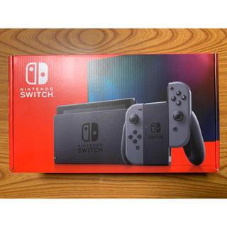 ニンテンドースイッチ(Nintendo Switch)の【即日発送】Switch グレー(家庭用ゲーム機本体)
