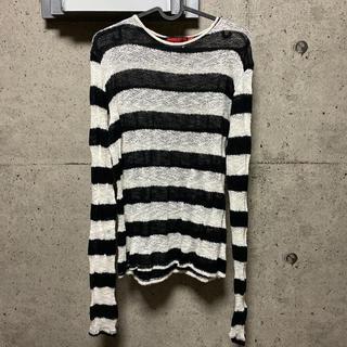 ヴィヴィアンウエストウッド(Vivienne Westwood)のHOMME BOY レースニット ロンT(Tシャツ/カットソー(七分/長袖))
