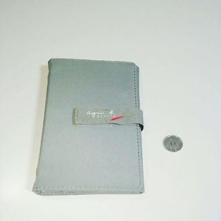 アニエスベー(agnes b.)のアニエスベー手帳システム手帳グレーノベルティー(カレンダー/スケジュール)