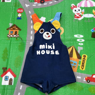 mikihouse - 【90㎝】ミキハウス プッチーくん なりきり 水着