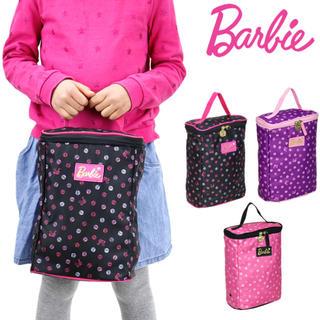 バービー(Barbie)の即完売品 Barbie BOX型 上靴入れ シューズケース バッグ 入学 入園(シューズバッグ)