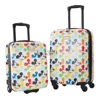 Disney - 送料込●新品 ディズニー ミッキーマウス スーツケース 2点セット