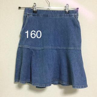 GLOBAL WORK - 《中古品》グローバルワーク ミニスカート(160)
