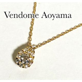 Vendome Aoyama - ヴァンドーム ダイヤ K18YG ドロップ オブ ガーランド ネックレス