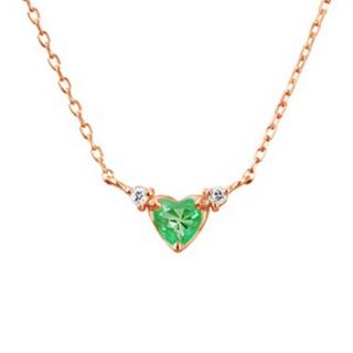 4℃ - K10 ダイヤモンド ネックレス ★約40cm ★10金