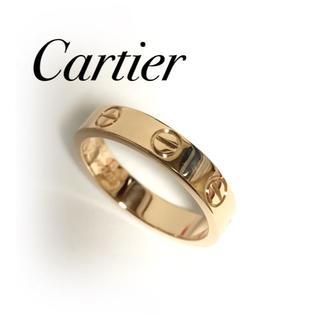 Cartier - カルティエ Carier ラブリング K18PG 49号 保証書あり ミニラブ