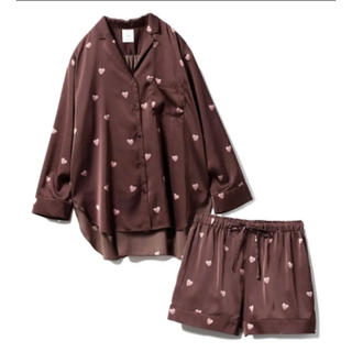 gelato pique - gelato pique(ジェラート ピケ)ハートチョコシャツ&ショートパンツ