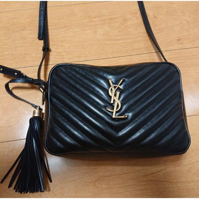 Saint Laurent(サンローラン)の国内正規店購入♦︎YSL サンローラン LOUルーショルダーカメラバッグ  レディースのバッグ(ショルダーバッグ)の商品写真