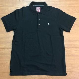 マークアンドロナ(MARK&LONA)のマーク&ロナ ブラック ポロシャツ サイズ→XL  美品(ポロシャツ)
