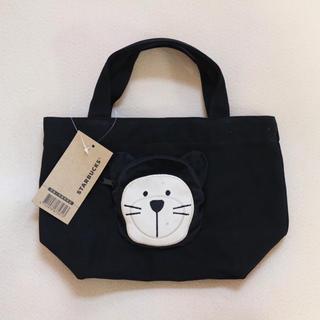 Starbucks Coffee - 【新品】台湾スターバックス トートバッグ 黒猫 ベアリスタ ブラック