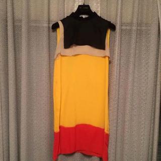 ボッテガヴェネタ(Bottega Veneta)のボッテガべネタ シルクワンピース ドレス(ひざ丈ワンピース)